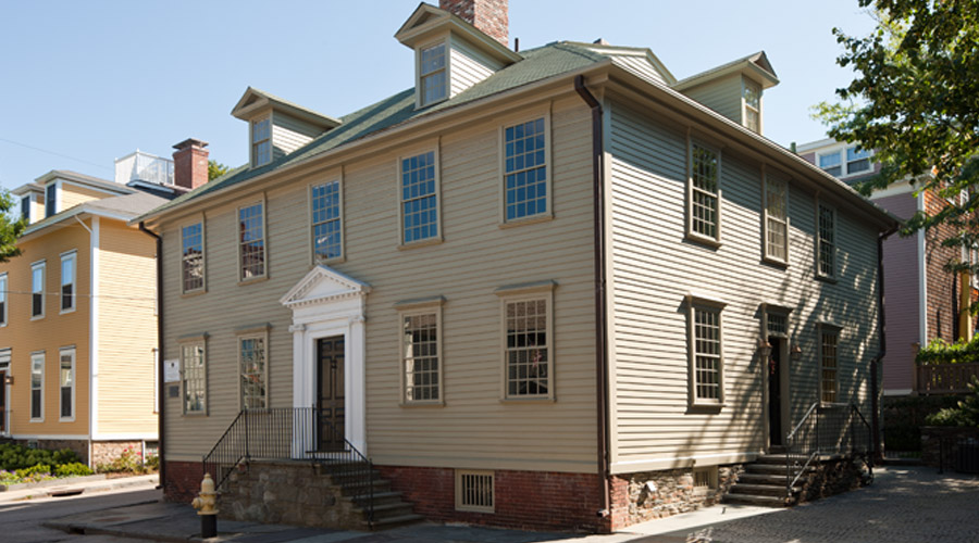 House exterior in daylight